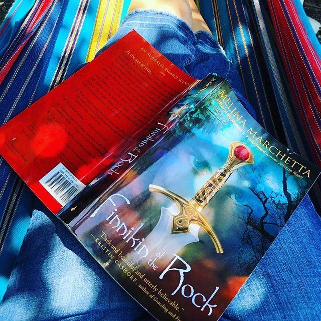 More Hammock reading, this time a reread of an old favorite. 📚 ☀️