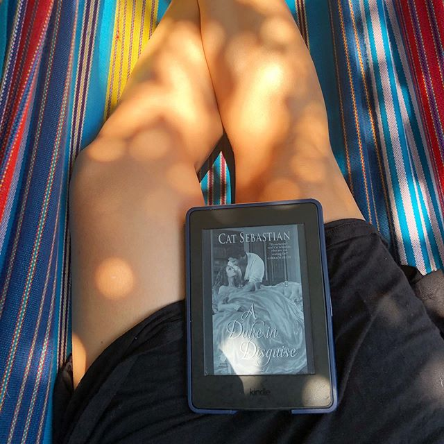 Another Saturday, another lovely hammock read.
