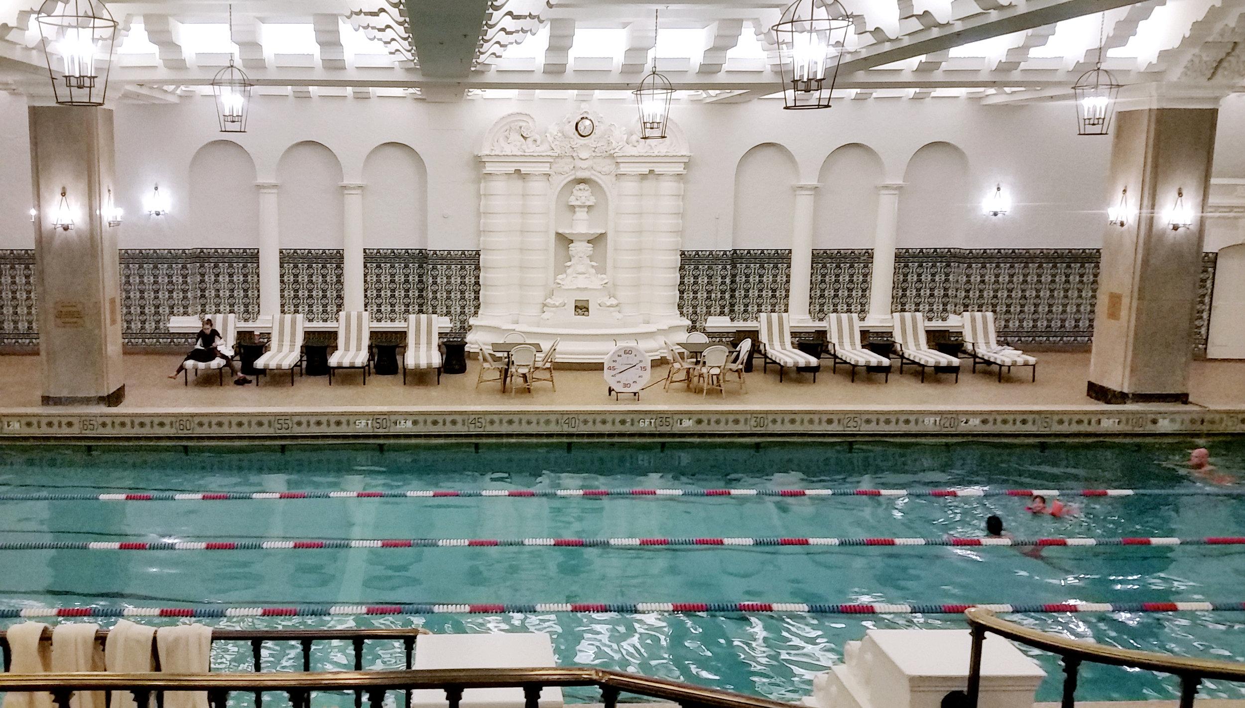 Pool at InterContinental