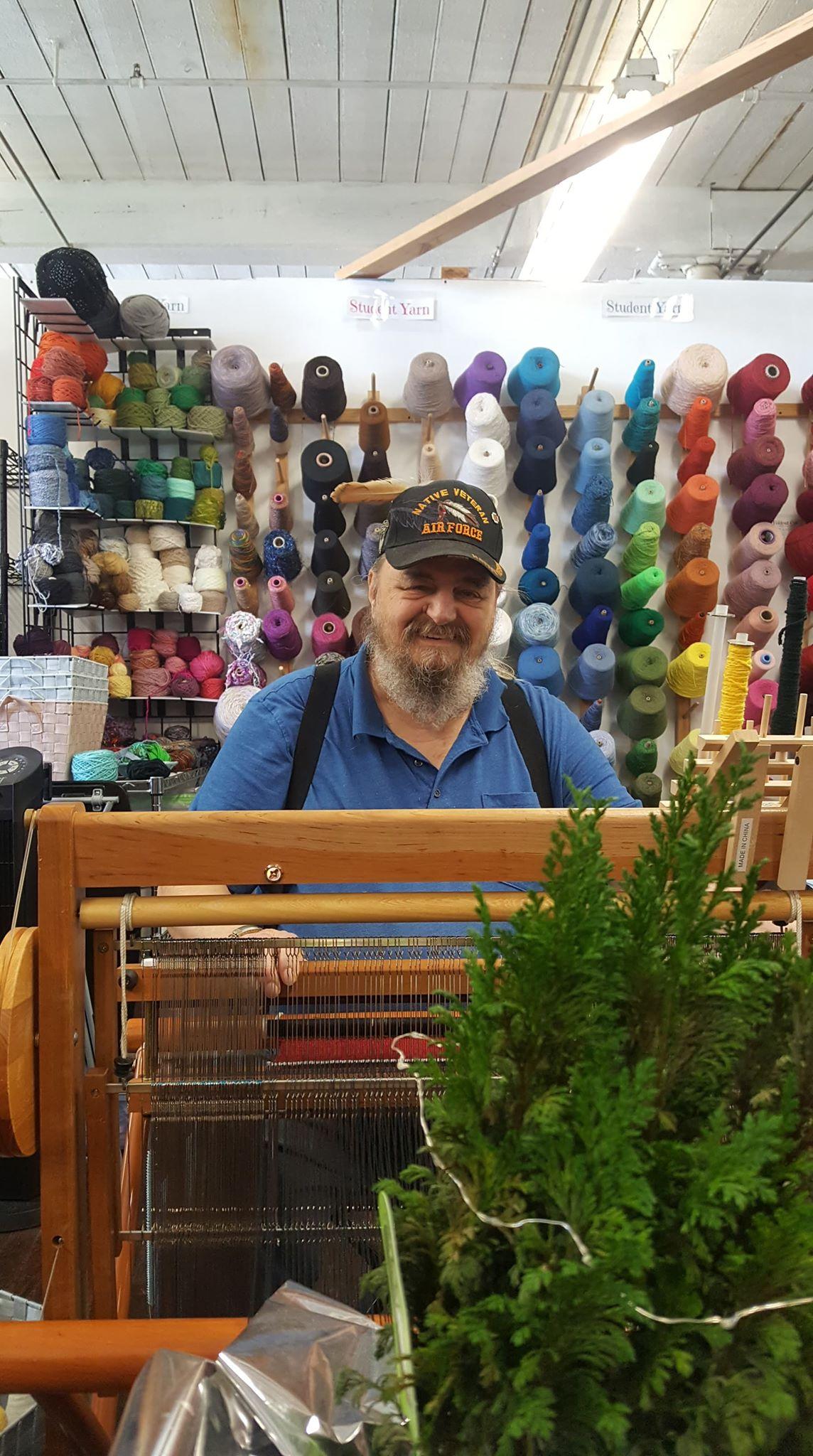 Art Wade weaving, 02-25-19.jpg