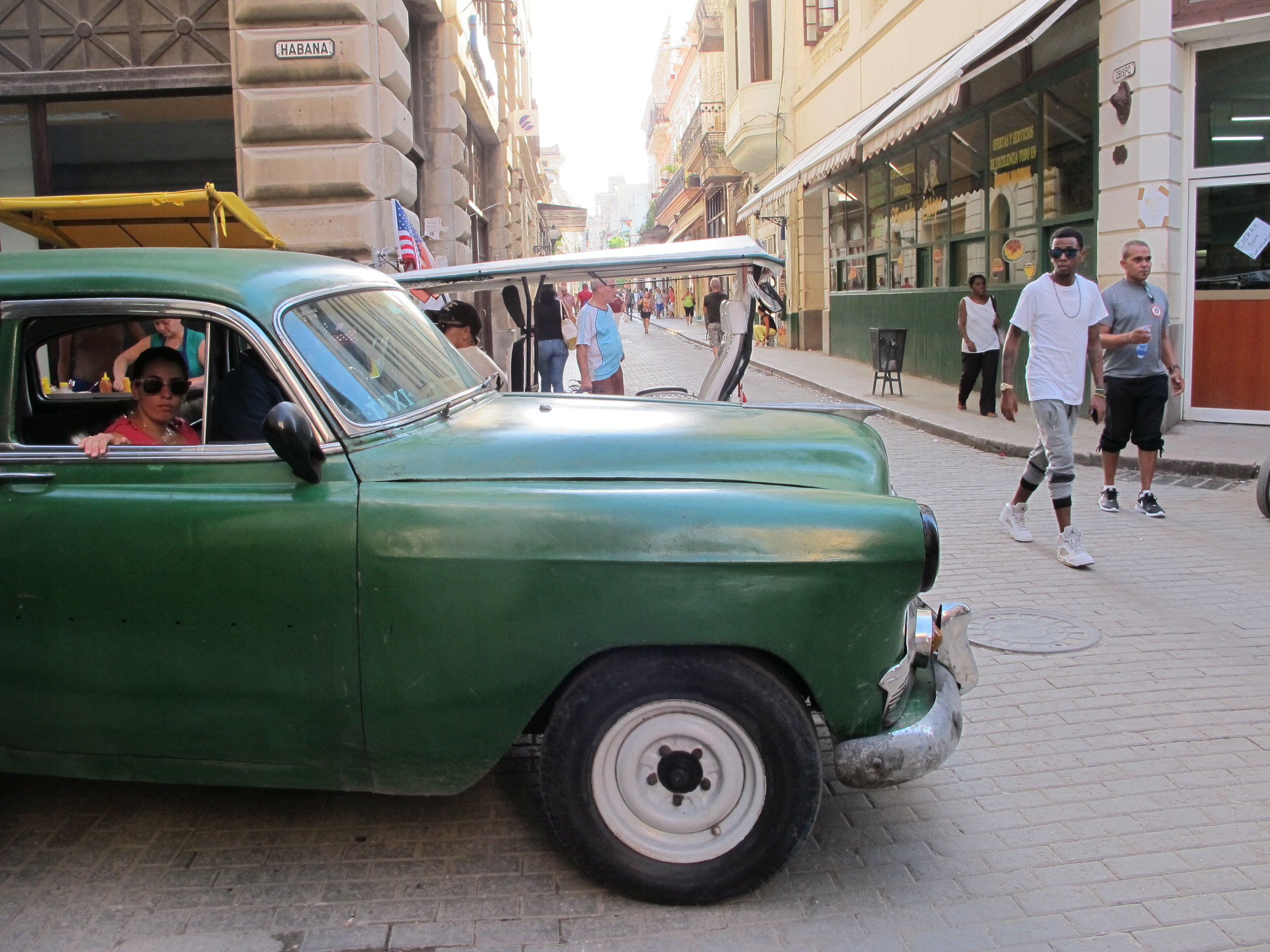 A Havana share taxi- been around a lot longer then Uber pool!