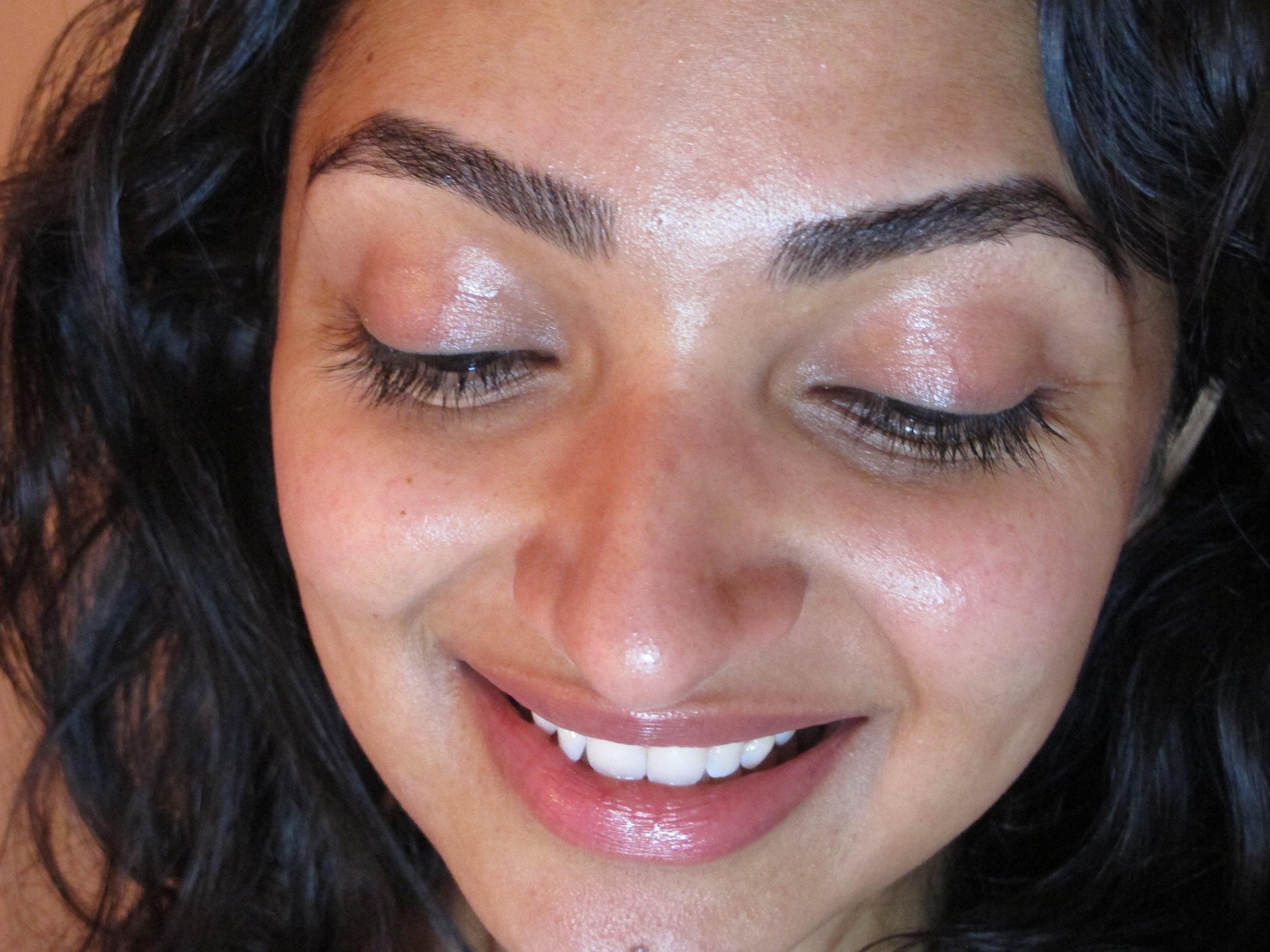 Makeup free, filter free, feeling free!