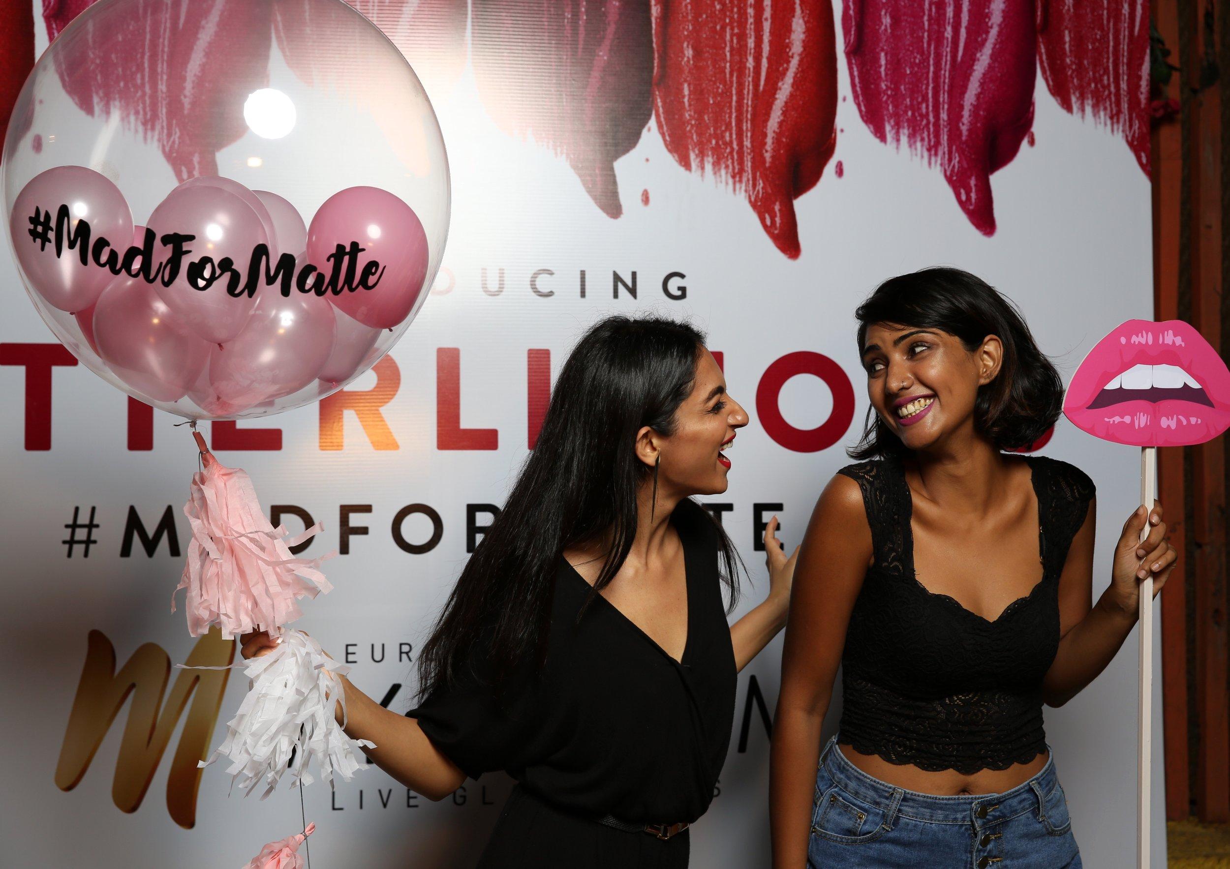 Jazba And Teena Singh MyGlamm Launch in Mumbai