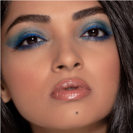Creating makeup looks for Myglamm