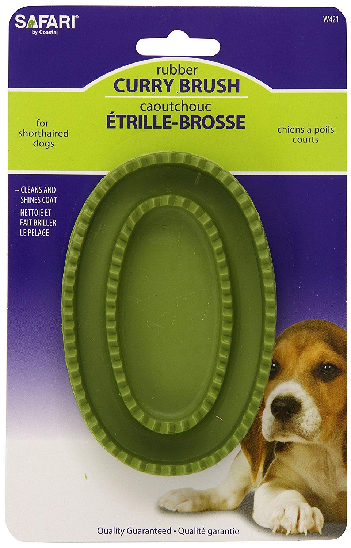 Dog curry brush
