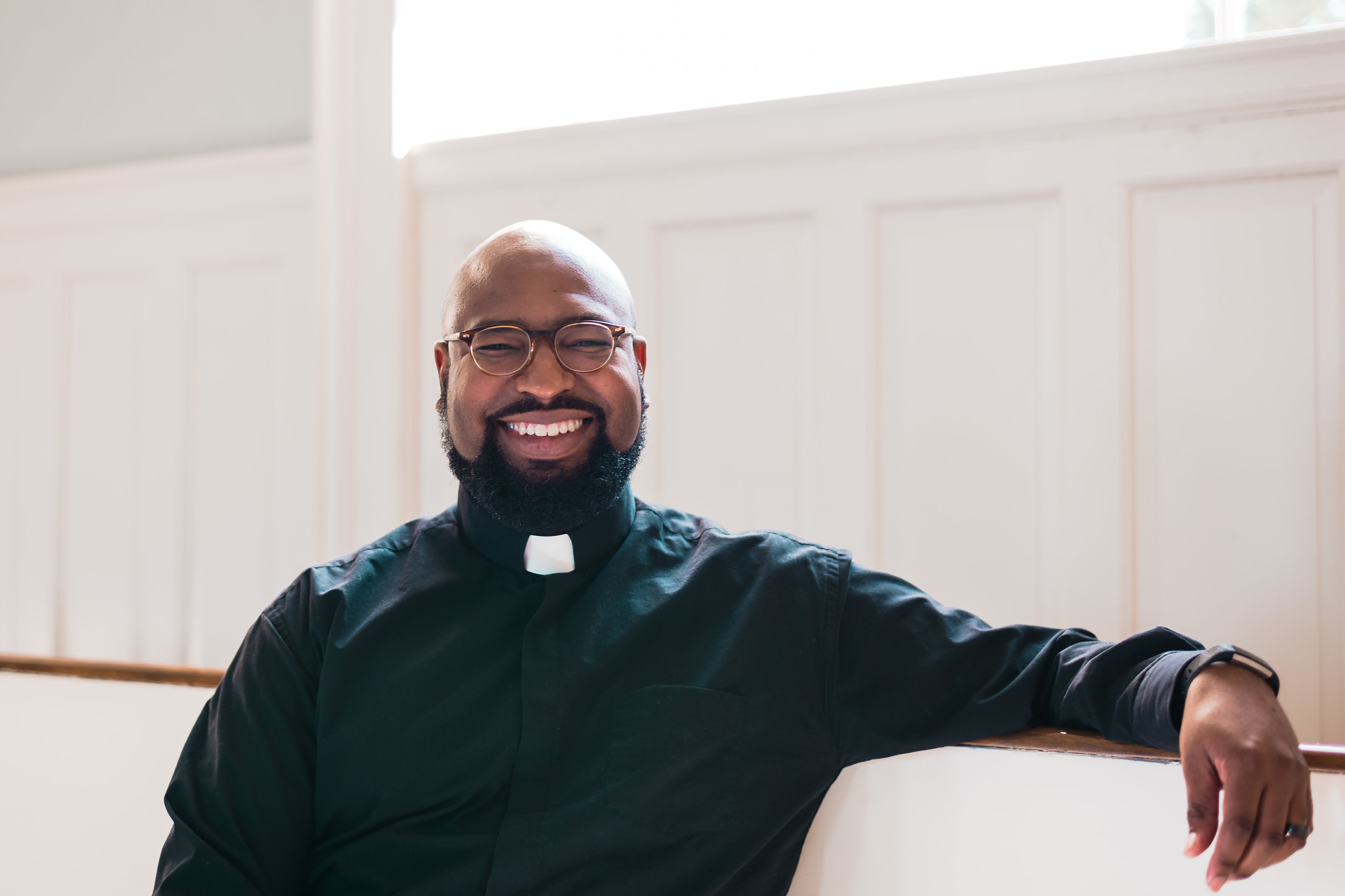 Rev. Justin Coleman - is the Senior Pastor of University UMC in Chapel Hill, NC. He grew up in Texas, and attended Southern Methodist University, graduating in 2000 with a major in religious studies. He, too, was very active in SMU's Wesley Foundation, and served as Associate Pastor at SMU's Wesley Foundation from 2001 to 2003 as he began seminary studies at SMU's Perkins School of Theology. Justin transferred to Duke Divinity School in 2003, and graduated with a Master of Divinity in 2005. Justin's first clergy appointment was to University UMC, as an intern in 2004 and then as Associate Pastor from 2005 to 2007.In 2007, Justin was called back to the Texas Annual Conference of the United Methodist Church, where he is an elder, and was appointed Associate Pastor at St. Luke's United Methodist Church in Houston, Texas. For six years from 2008 to 2014, Justin served as the Executive and Lead Pastor of the Gethsemane Campus of St. Luke's Church and led it through a remarkable period of growth in ministry and service to its community.From 2014 to June 2017 Justin served as the Chief Ministry Officer of the United Methodist Publishing House in Nashville, Tennessee. During this time he has also continued to frequently offer lectures, sermons, and lead worship.Justin and his wife Chaka live in Chapel Hill with their three sons, Zan, Max, and Lawson.