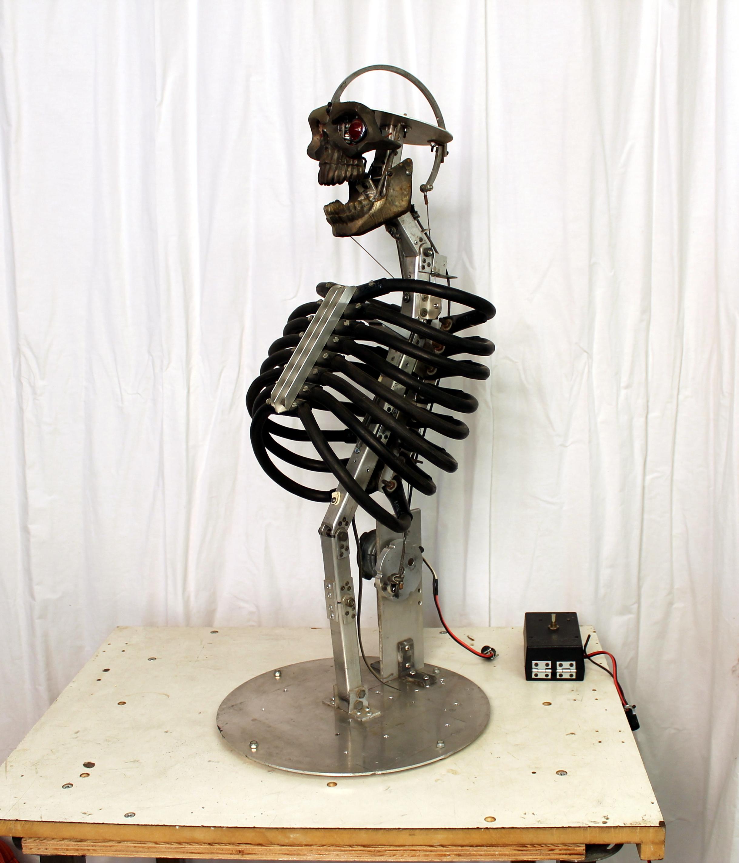 Mechanical Thrashing Torso (Front View)