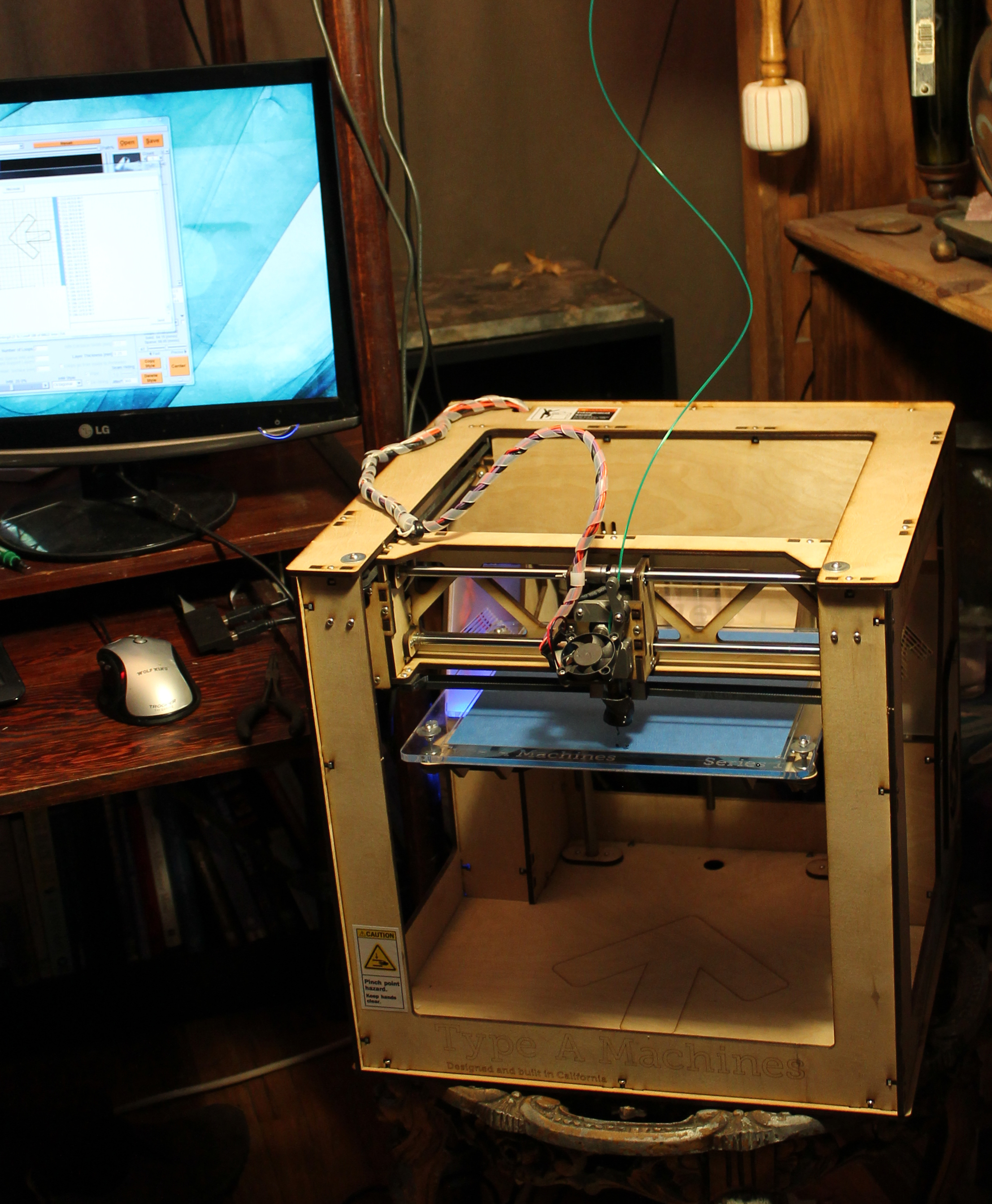 Woody the 3d printer