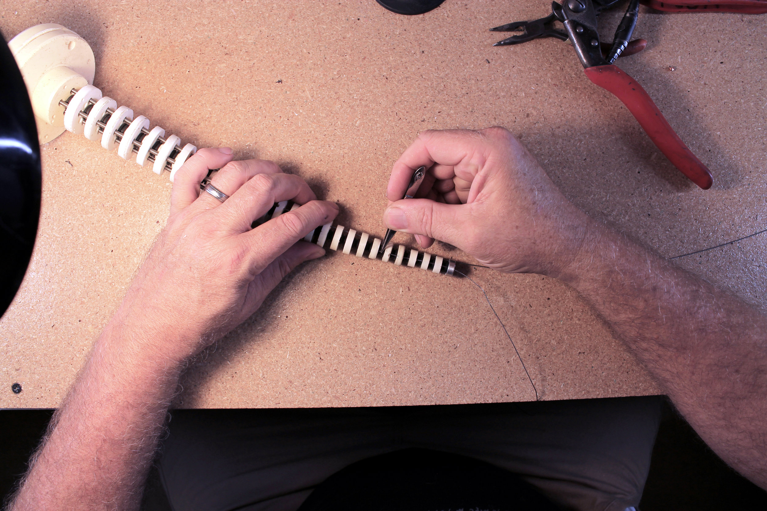 Tweezers = tiny fingers