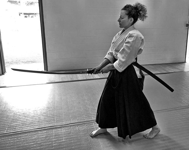 """Understanding what the enemy is doing and how he is moving. Reacting accordingly to the story, this is the waza"" - Sato Yosoichi #Iaido"