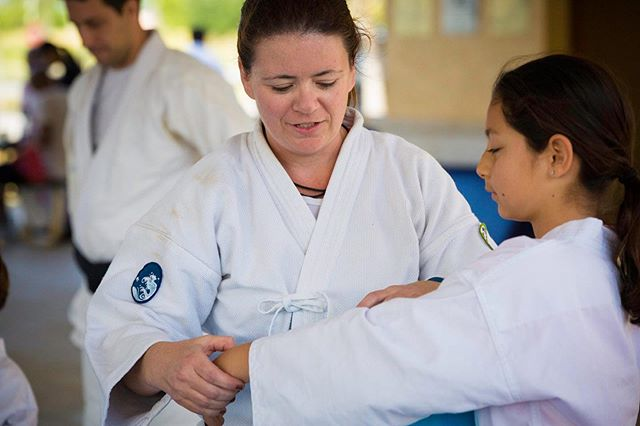 Isabel de La Vega Sensei (3rd Dan) is the Kid's Program Instructor at Aikido Miramar, she was born in Caracas #Venezuela and will be a guest instructor at our Benefit Seminar this Sep. 14-15. Both De La Vega Sensei & her husband, Herzog Sensei, are current students of Peter Bernath Shihan at Florida Aikikai. Join us on this great cause to provide supplies to new born babies in need! #AikidoForVenezuela www.kenoshaaikikai.org/seminar