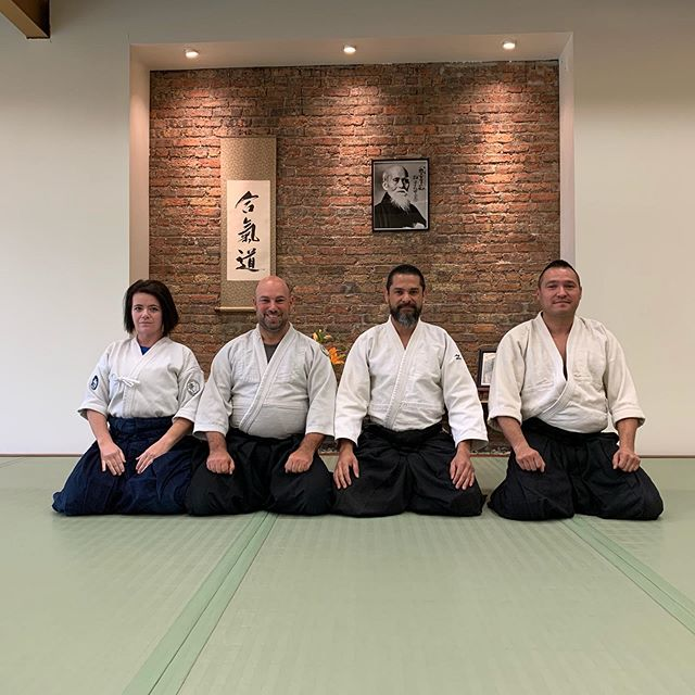 Thank you Kenosha Aikikai for your support on the preparation to & during the seminar and thank you to all of you who supported with your presence and/or donations this great cause on behalf of newborn infants in #Venezuela, we couldn't be more grateful to you all! -Isabel, Emmanuel, Carlos & Erwin #AikidoForVenezuela