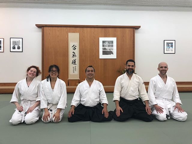 Another fantastic seminar with Yokota Sensei at the Midwest #Aikido Center! Thank you everyone at @midwestaikido for your work in making this another memorable experience!