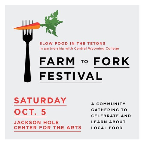 Please join Slow Food in the Tetons and Central Wyoming College for a day dedicated to food education and celebration. The Farm To Fork Festival is a family-friendly, all-day event at the Center for the Arts to celebrate food, farms and community. Come eat, learn and get inspired to create a healthier, more sustainable food system!  Check out their website for the schedule and more information. We hope to see you there at our Vera Iconica booth!  #FarmtoForkFestival #slowfoodinthetetons @tetonslowfood @thecenterjh @cwc_rustlers