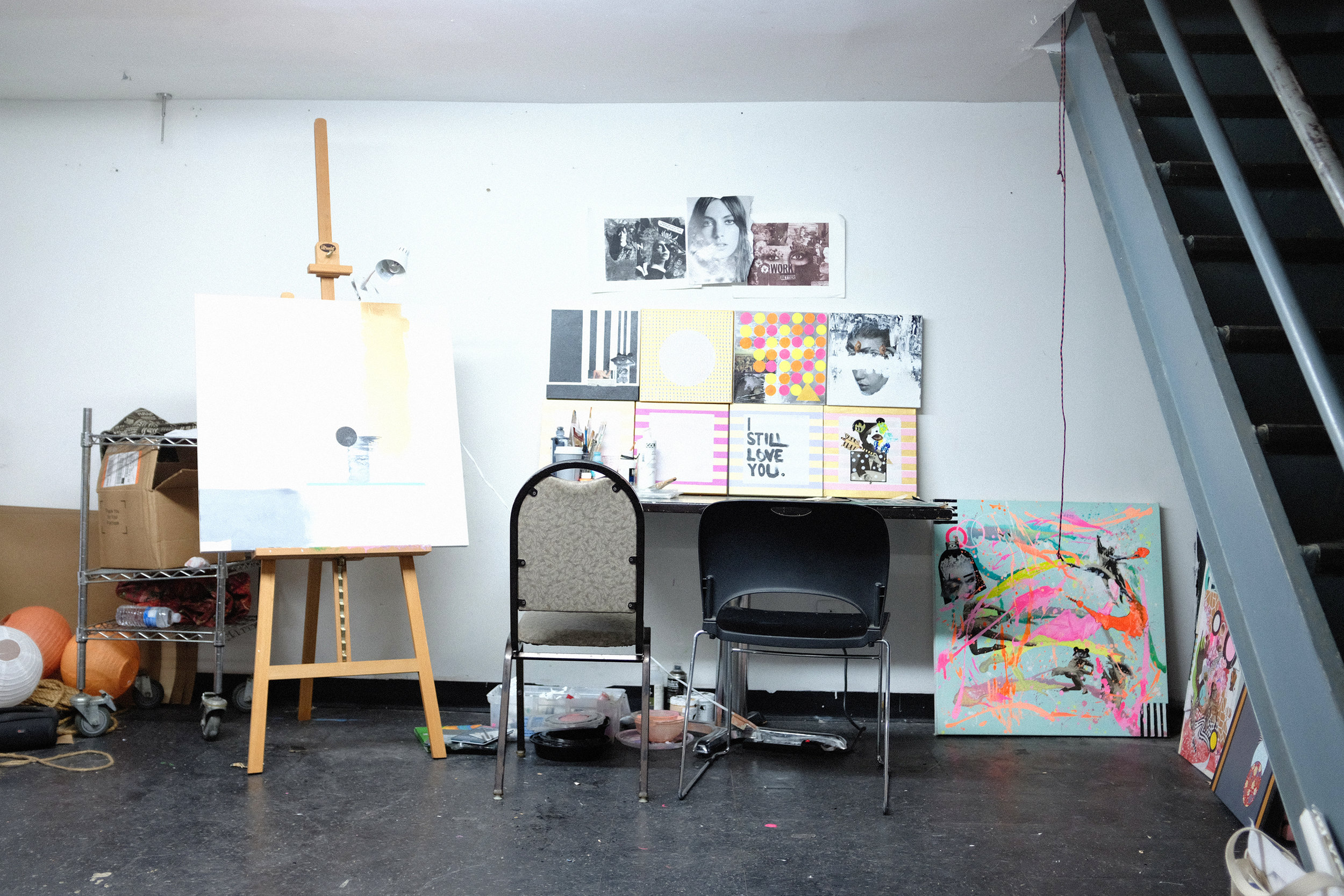 Studio space avaliable for under represented artist residents