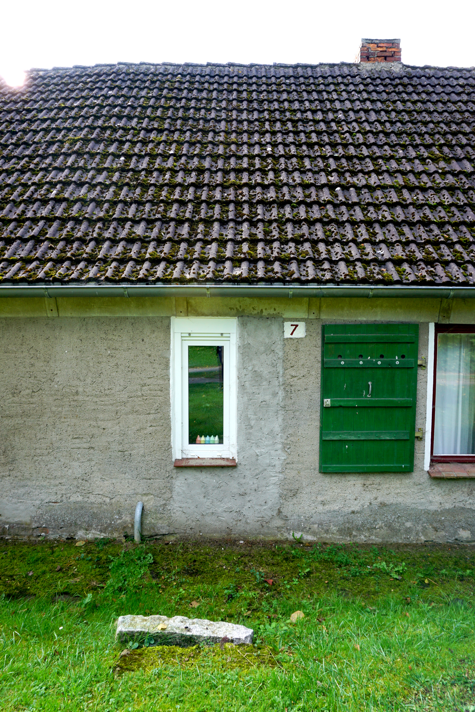 Existing house: isolationism of the GDR (East Germany)