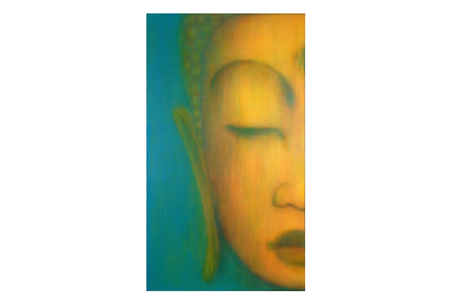 Custom Buddha  ©Karen Zilly   SOLD