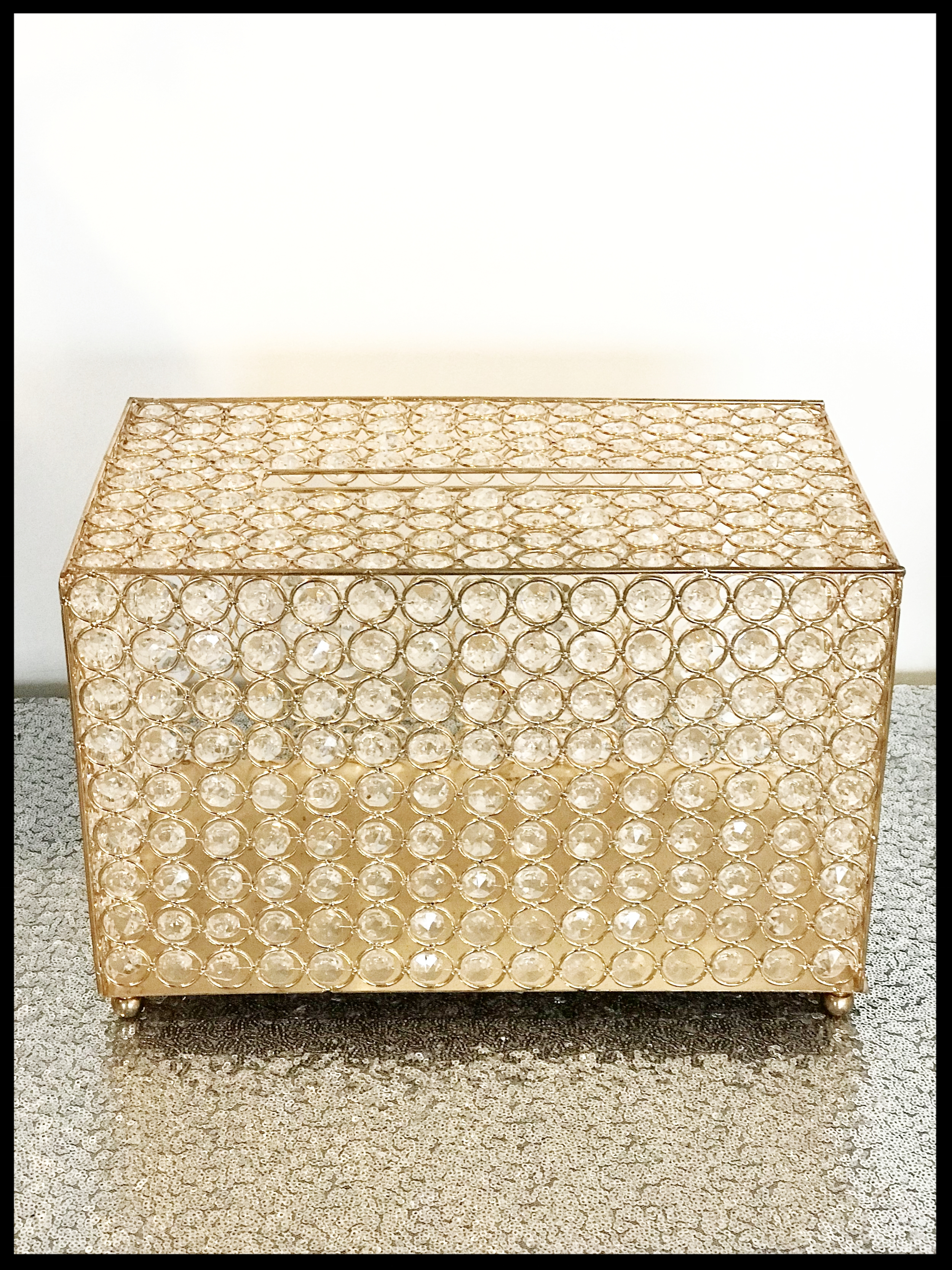 Gold Crystal Gift Box (also available in silver)