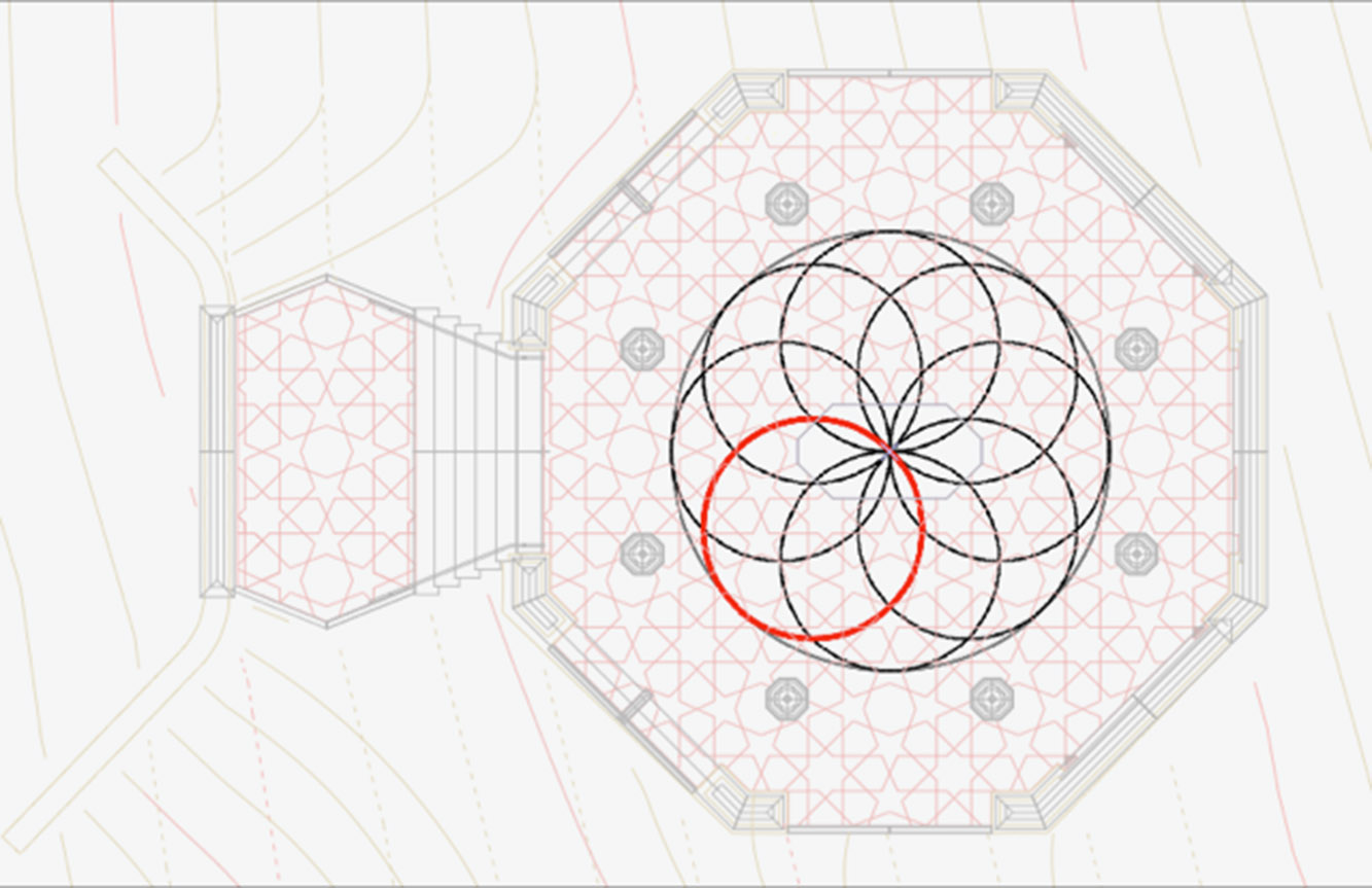 The Double Helix in plan that drives the geometry
