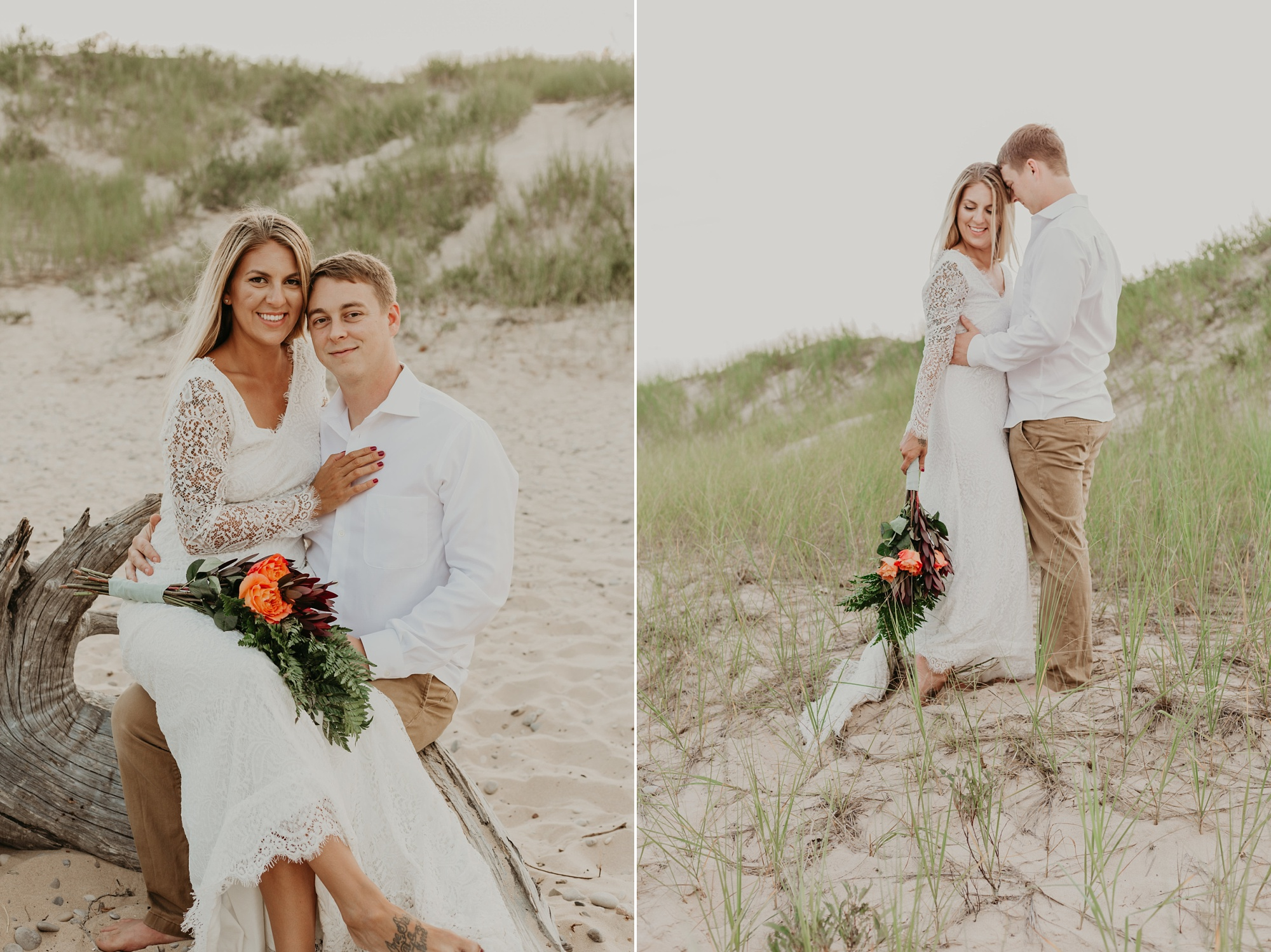 Petoskey elopement photographer