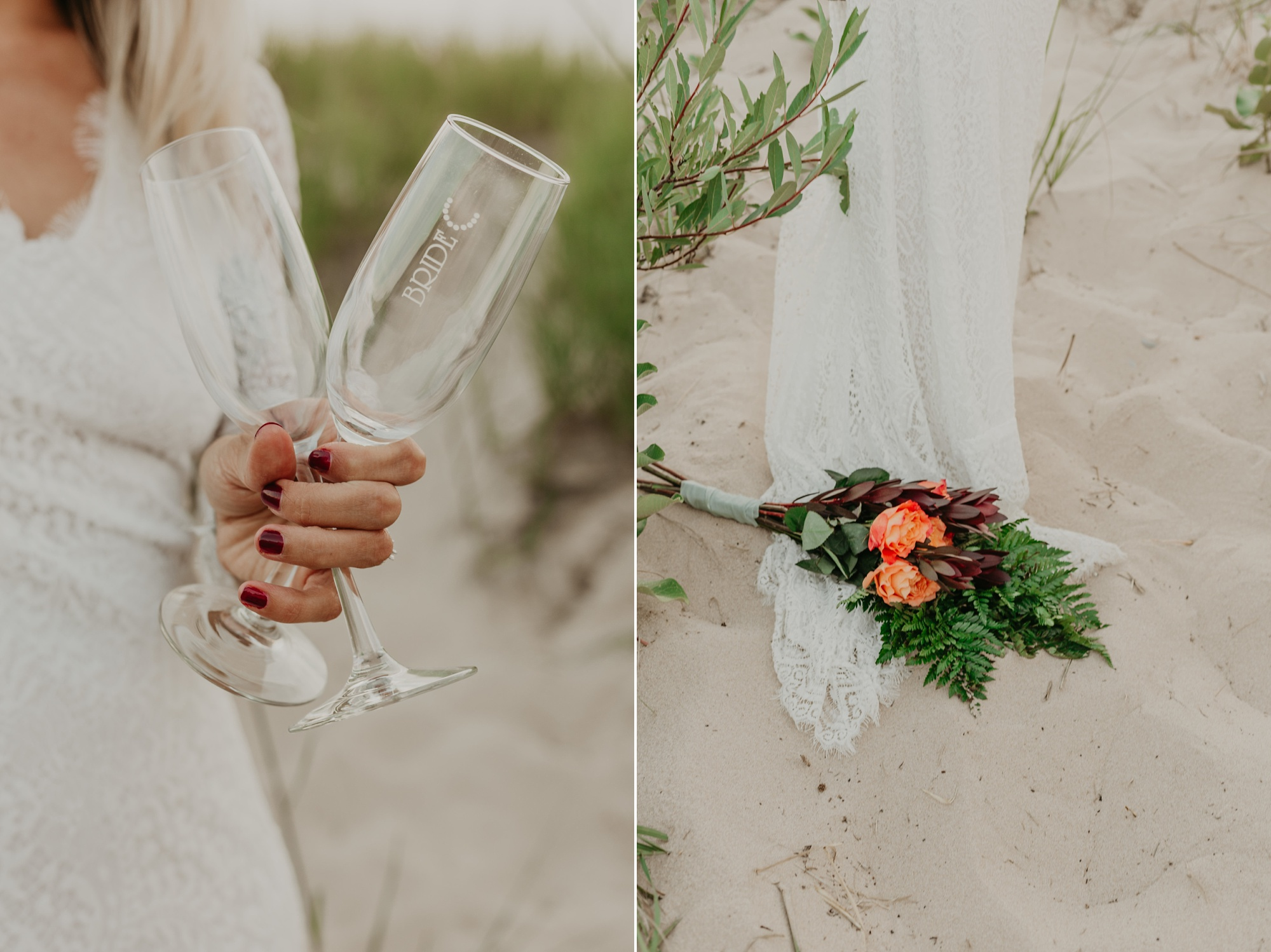 Petoskey State Park elopement photography