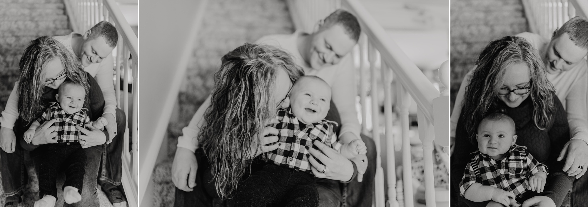 Petoskey family in-home photo sessions