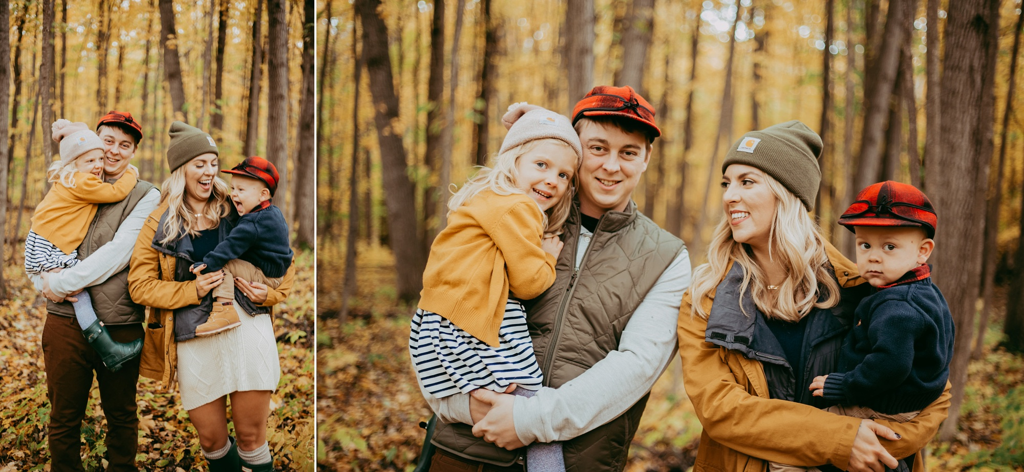 Harbor Springs MI fall family session
