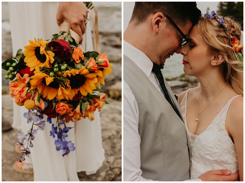Michigan weddings florals