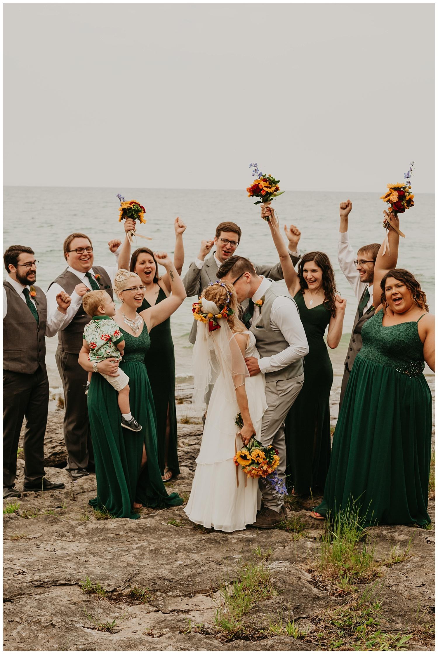 Wedding party michigan details
