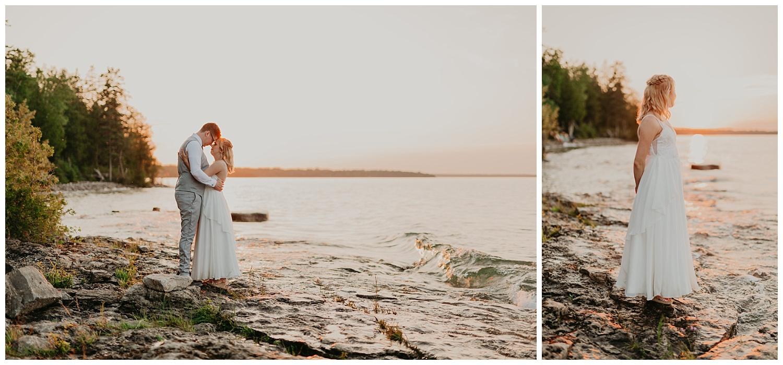 Alpena Michigan Mclanson Wedding Lisa Mccoy Photography