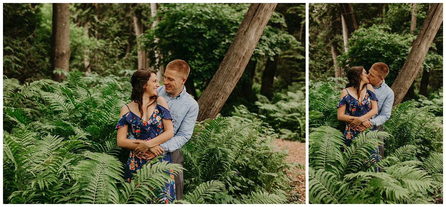 Engagement photographer northern michigan
