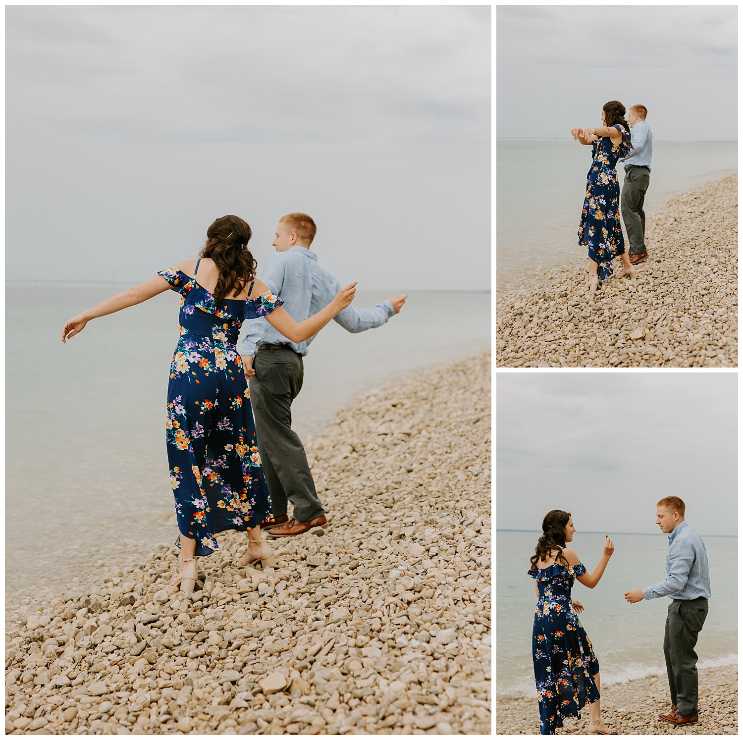 Lake Huron Engagement session
