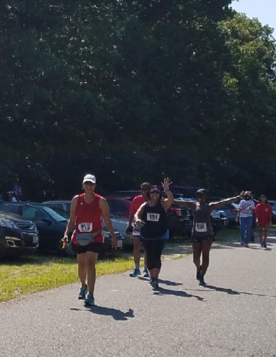 4th of July 4-miler Cumberland, RI