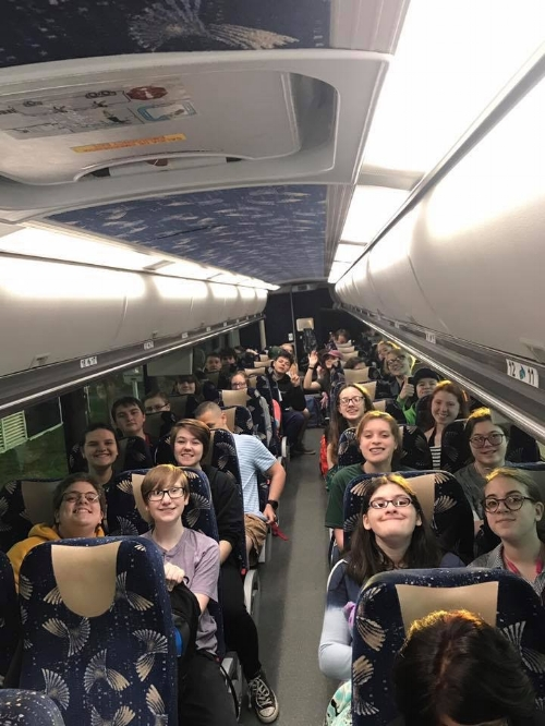Cumberland High School Band heading to compete Hershey, PA