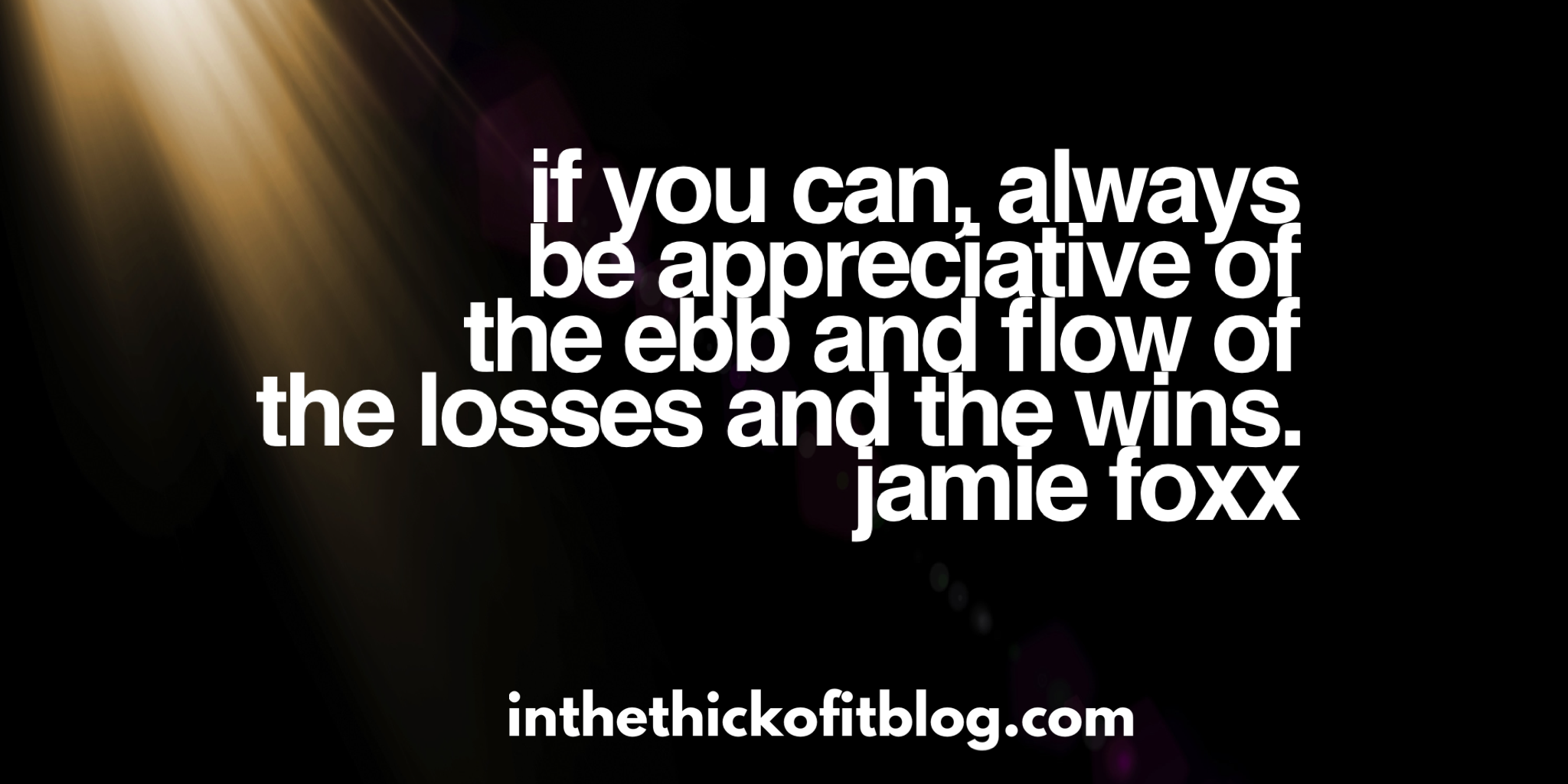 New perspective on embracing your losses.