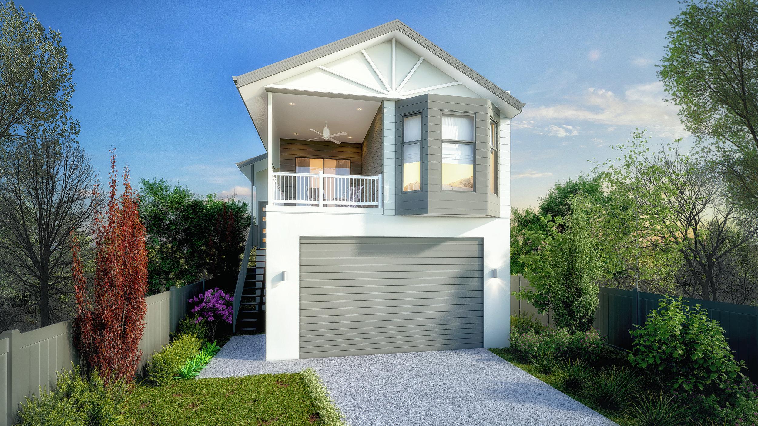 Facade Render- 3 bedroom Double storey .jpg