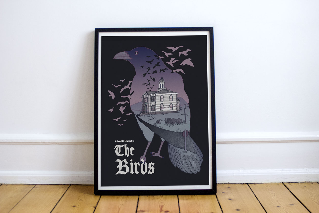 Poster Design: The Birds