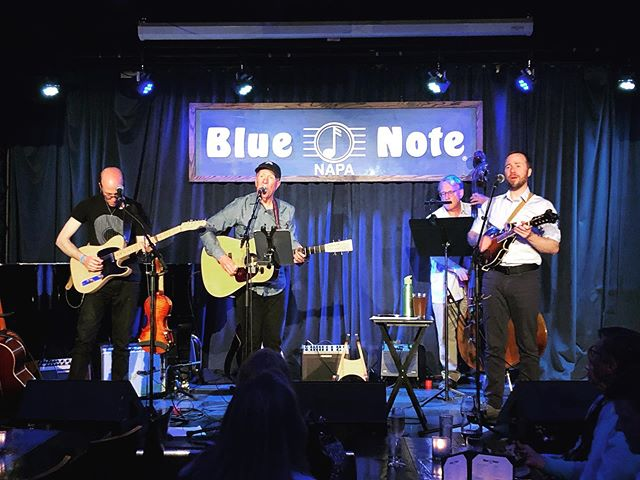 Thank you to everyone who came out Tuesday night in Napa. The Blue Note was a great place to play and it was awesome to see a crowd turn out on a weeknight. We'll be back there in October. More info soon! #bluenotenapa #folkmusic @bluenotenapa