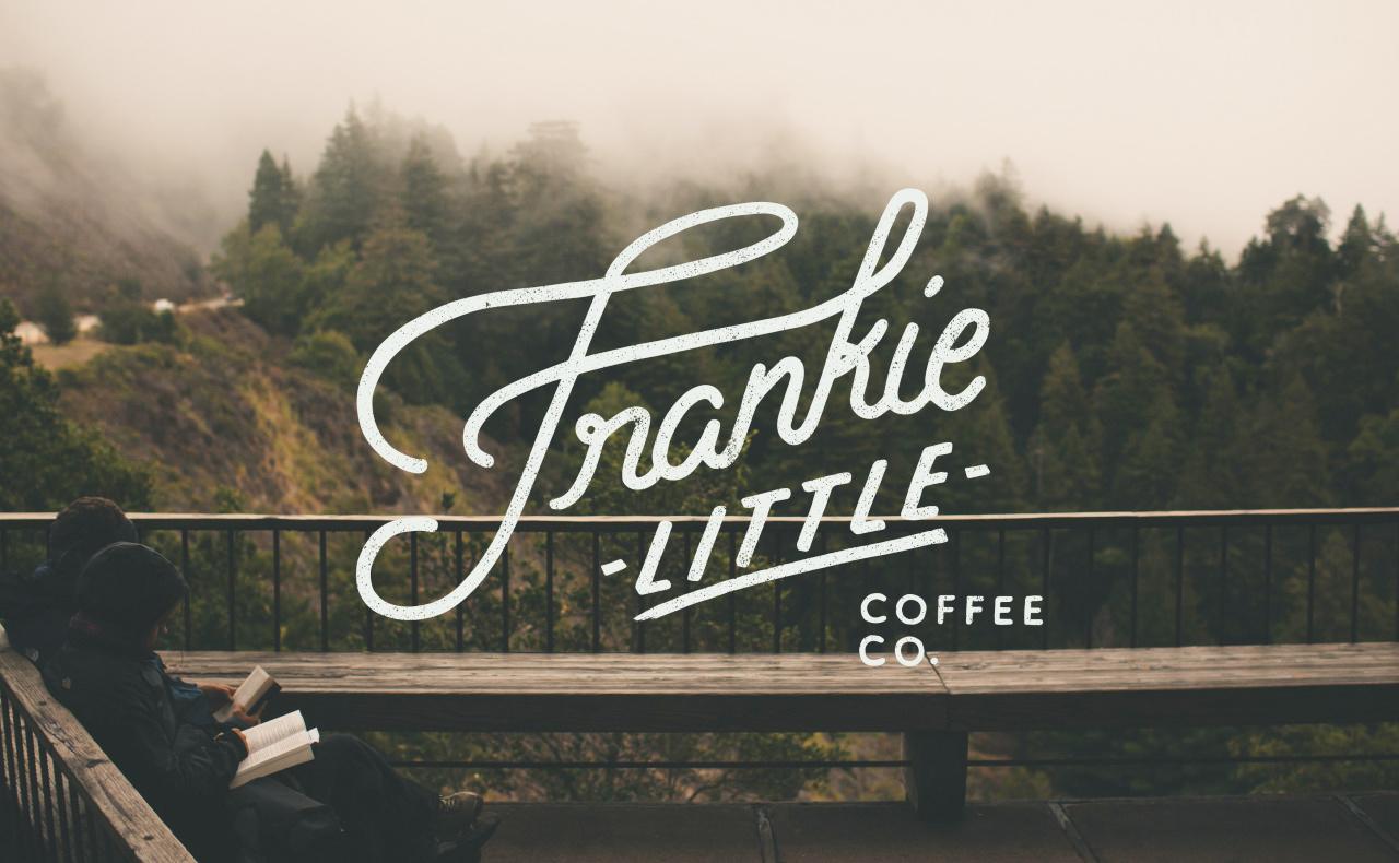 Frankie Little Coffee Co.    Logo Design, 2016.