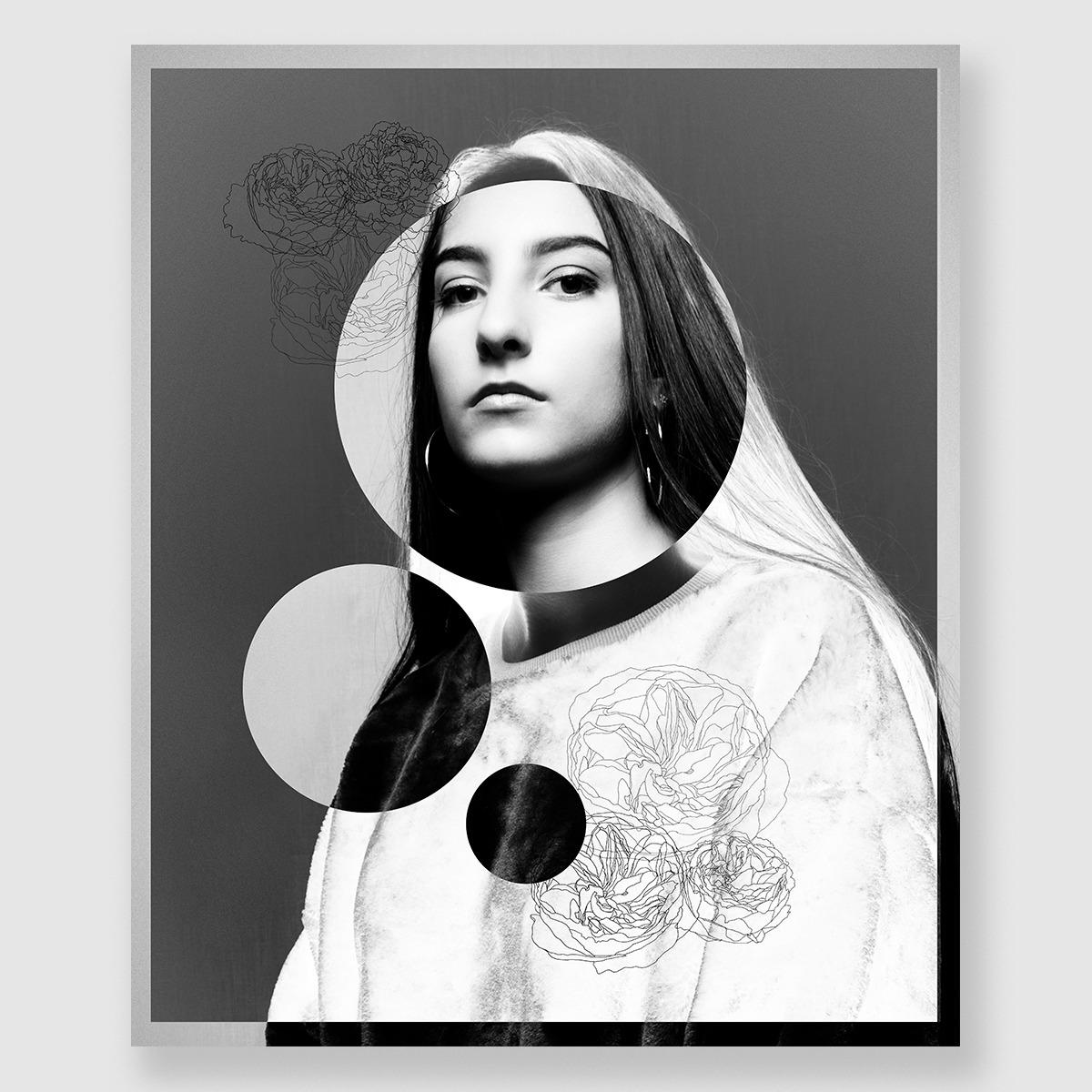 Verve Portraits    Digital Illustration Portrait, 2018    Original photo by Luca Prodigo.
