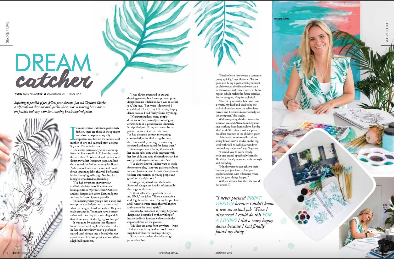 Shyanne Clarke Profile Magazine Lhato