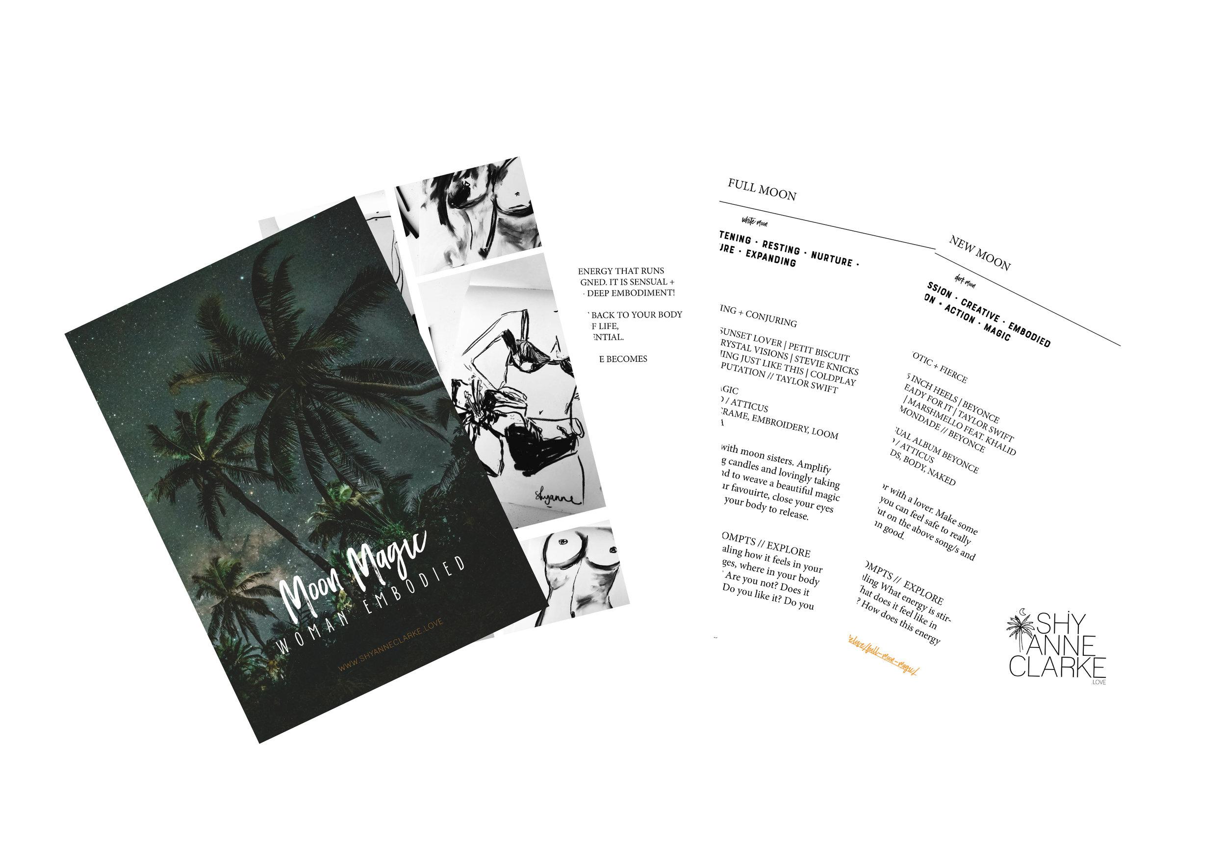 mini ebook // moon ritual - FOR THE WILD WOMAN