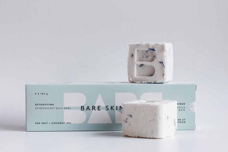 Bare Skin Bar Detox 4 pack $24