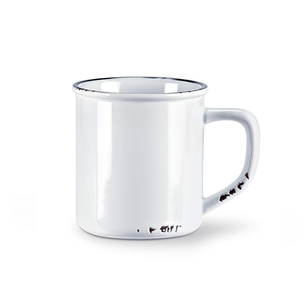 Enamel Mug White $12