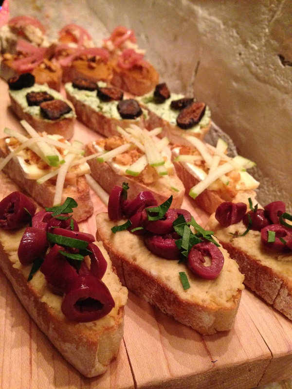 A Must Try: The Assorted Bruschetta
