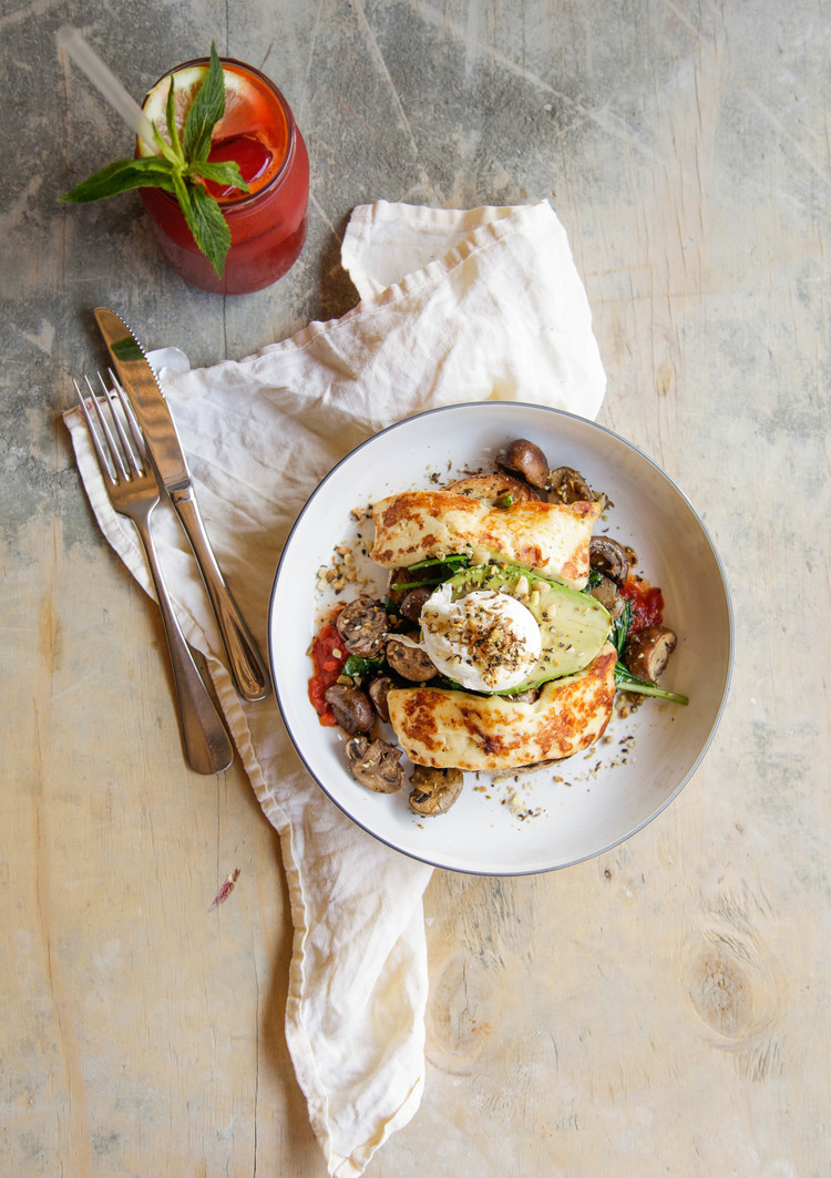 The Halloumi Stack