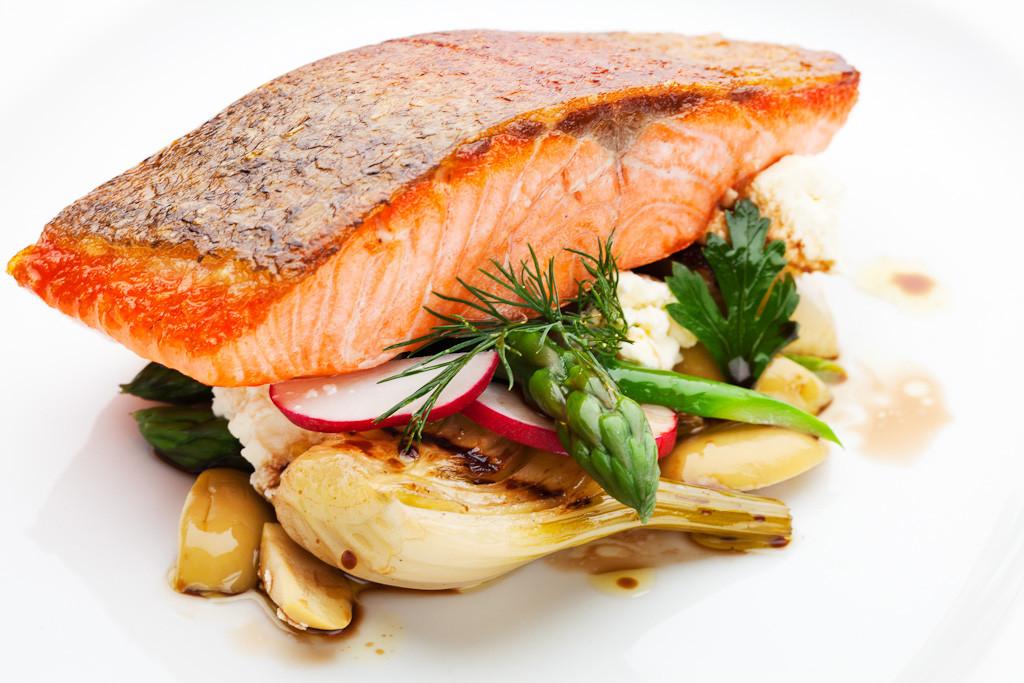 Tasmanian Salmon.  Image courtesy of Woodland Kitchen & Bar.