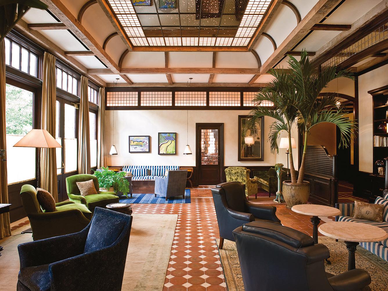 Greenwich Hotel Lobby