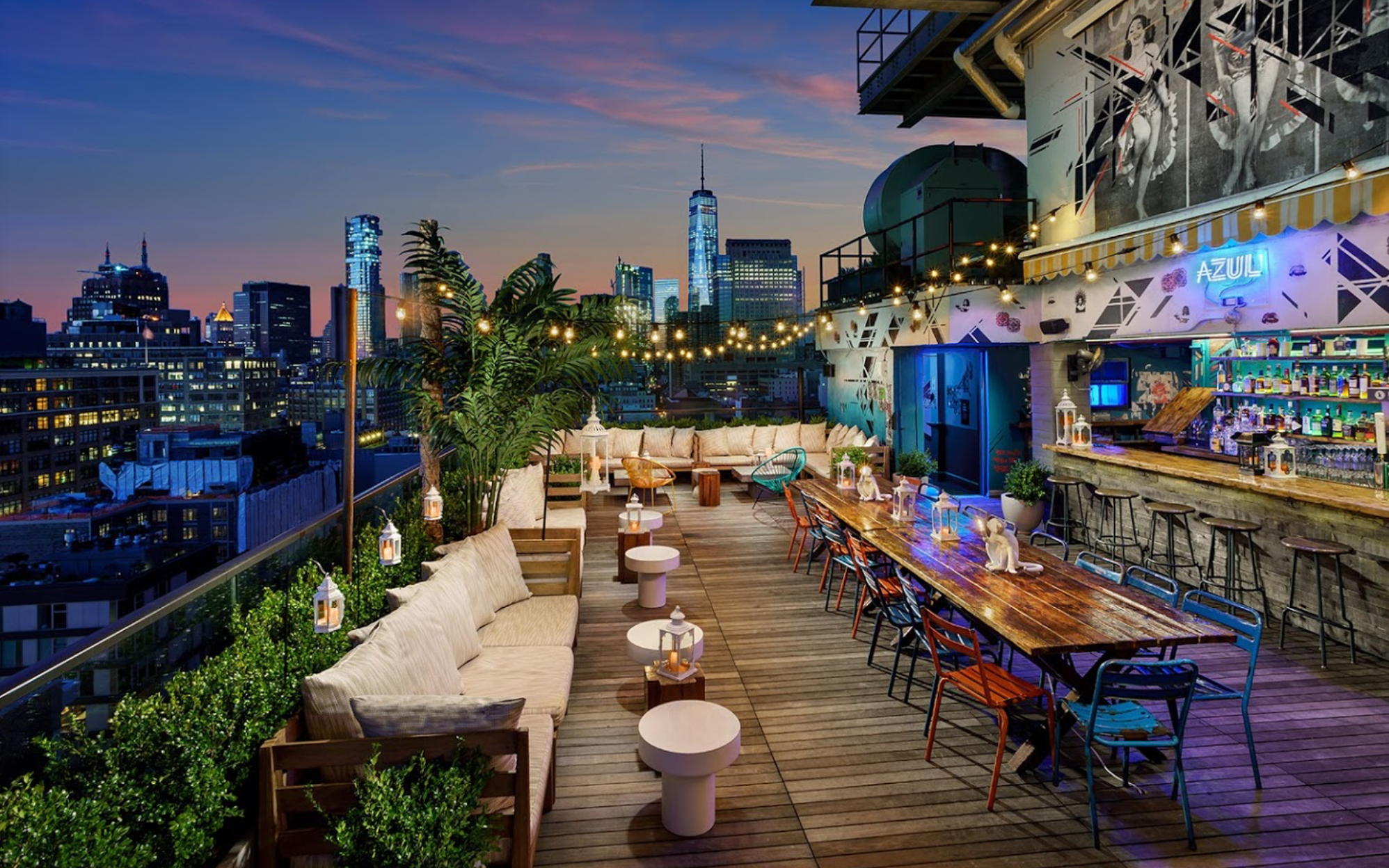 Hotel Hugo's Famous Rooftop