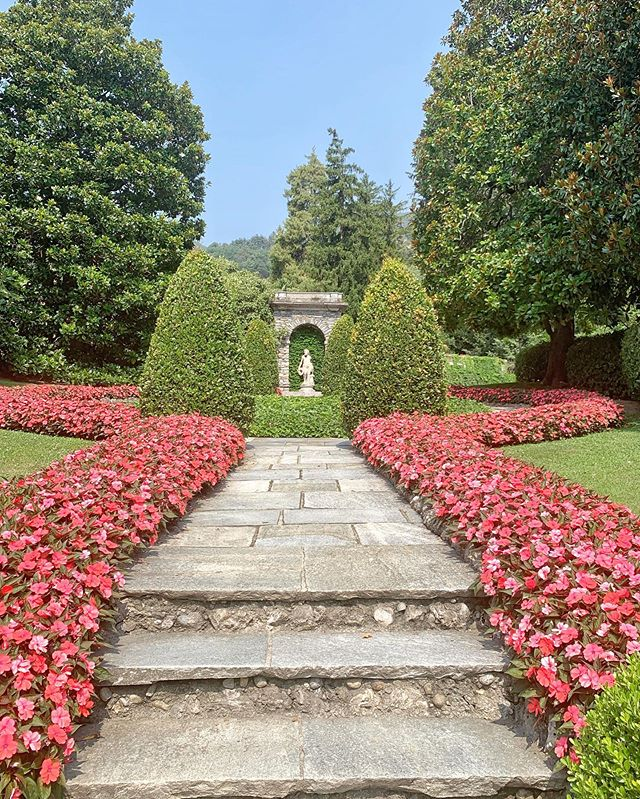 Immaculate landscaping at one of the most beautiful hotels in the world.